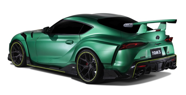TOM'SがスープラをGTマシンさながらの超高性能車に仕立てて発売!2020年夏ごろデリバリー開始予定【特別限定車】