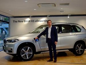 BMW X5にコアブランド初のプラグインハイブリッドxDrive40eを追加