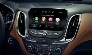 スタバの注文をナビ画面で出来る、GMの新サービスが北米でスタート