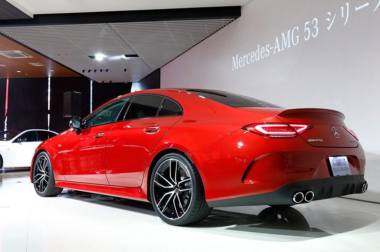 メルセデスAMG初のマイルドハイブリッドを採用した53シリーズを発表