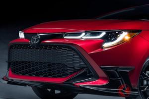 赤が似合う! トヨタ「カローラハッチバック」の限定車登場! 北米で2020年夏発売