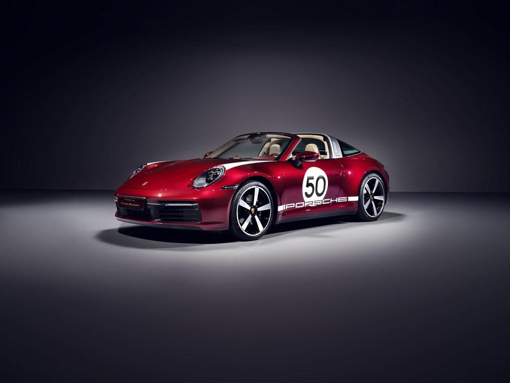 ポルシェ、911タルガにレトロ感あるデザインの限定車を設定