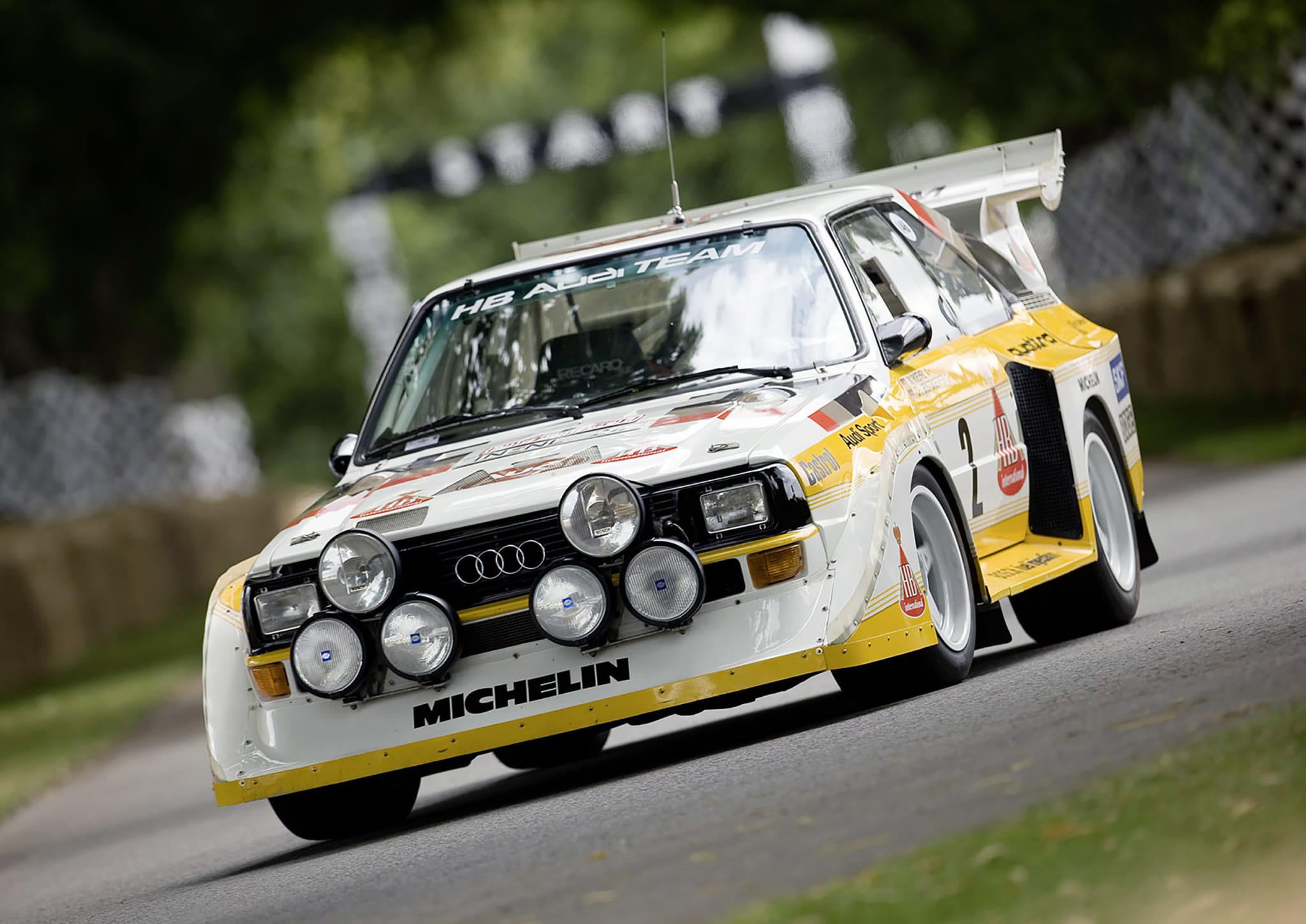 最初はシステムの名前じゃなく車名だった! 「ラリー=4WD」の常識を作ったアウディの「クワトロ」とは