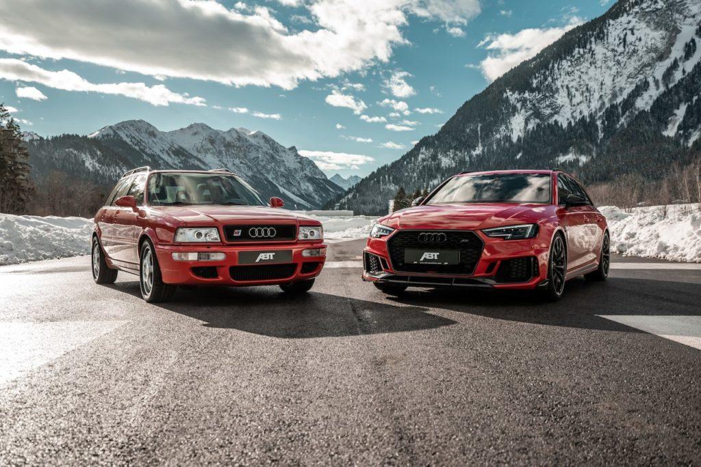 ABTが手がけた新旧2台のアバント「RS2」と「RS4+」が25年の時を経て邂逅!