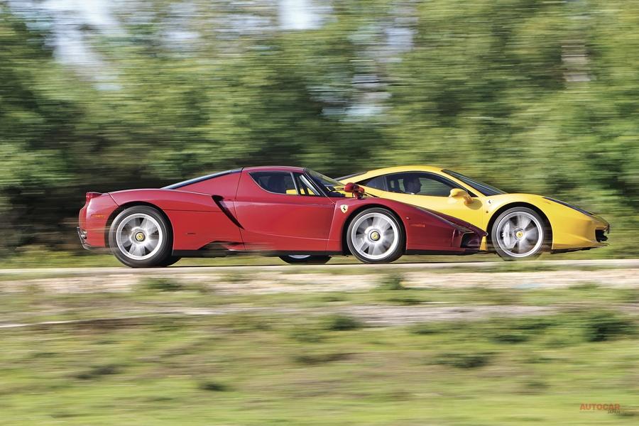 回顧録 フェラーリ3台比較試乗 進化の足跡と最新モデルの実力 後編