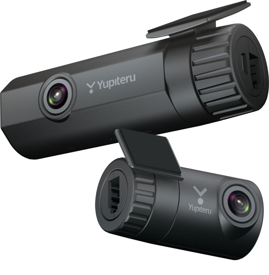 【最新ドラレコインプレ】スタイリッシュボディが目を引く2カメラ・スーパーナイトモデル ユピテル SN-TW80d