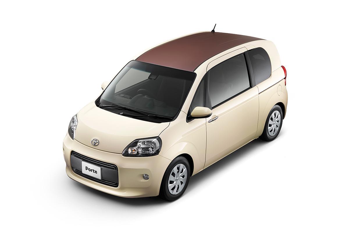 トヨタ・ポルテ&スペイドの特別仕様車は上質感を高めたオトナの雰囲気満点の装い