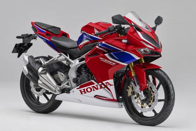 ホンダ、CBR250RRの新色を発表。HRCのワークスカラーが新たに加わる