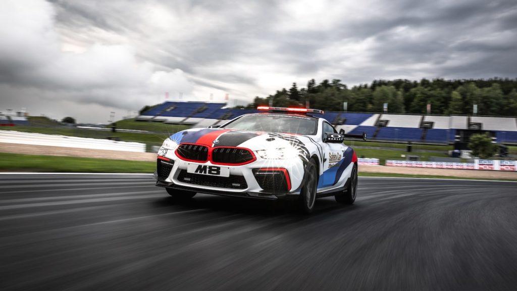 BMW M8、MotoGPのセーフティカーに起用! オーストリアGPでデビュー