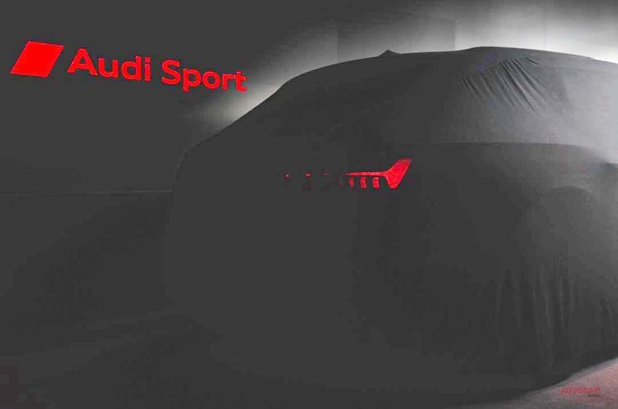 アウディ、新型RS6アバントは9月発表 新ワゴン・モデルの予告画像1枚