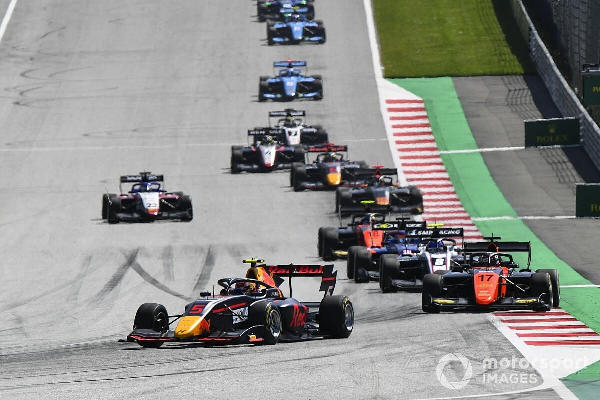 FIA F3シュピールベルク:レース2はレッドブル育成ドライバーのリアム・ローソンが優勝