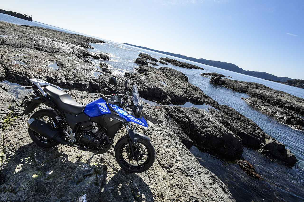 《後編》1日600kmを余裕で走れる250ccのツーリングバイク。スズキの『Vストローム250』のコスパは価格じゃ計れない。