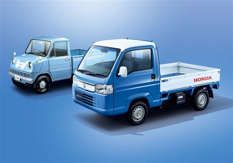 ホンダ「アクティ トラック」はもうすぐ生産終了。強みは独特の駆動方式
