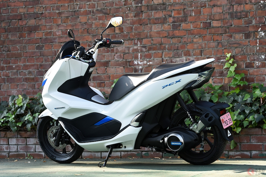 ホンダ新型電動スクーター「PCX ELECTRIC」のリース販売開始!