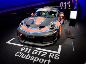 【LAショー2018】サーキット走行をとことん楽しめるポルシェ911 GT2 RSクラブスポーツが登場!