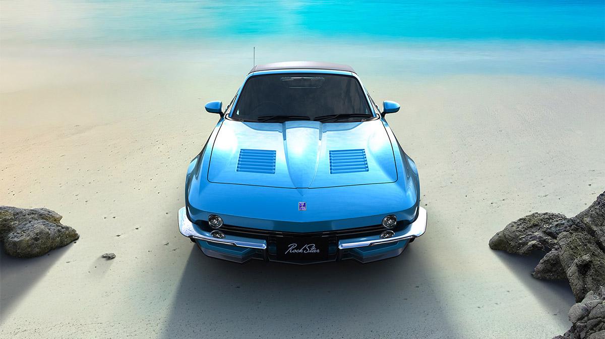 やんちゃ×スタイリッシュ×楽しさ! 光岡50周年記念の2シーターオープンカー「ロックスター」発表
