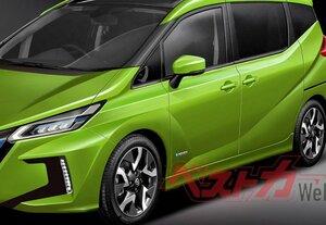 2020年秋に登場!! 新型ノートにe-POWER搭載の3列シート派生車あり!! 全情報
