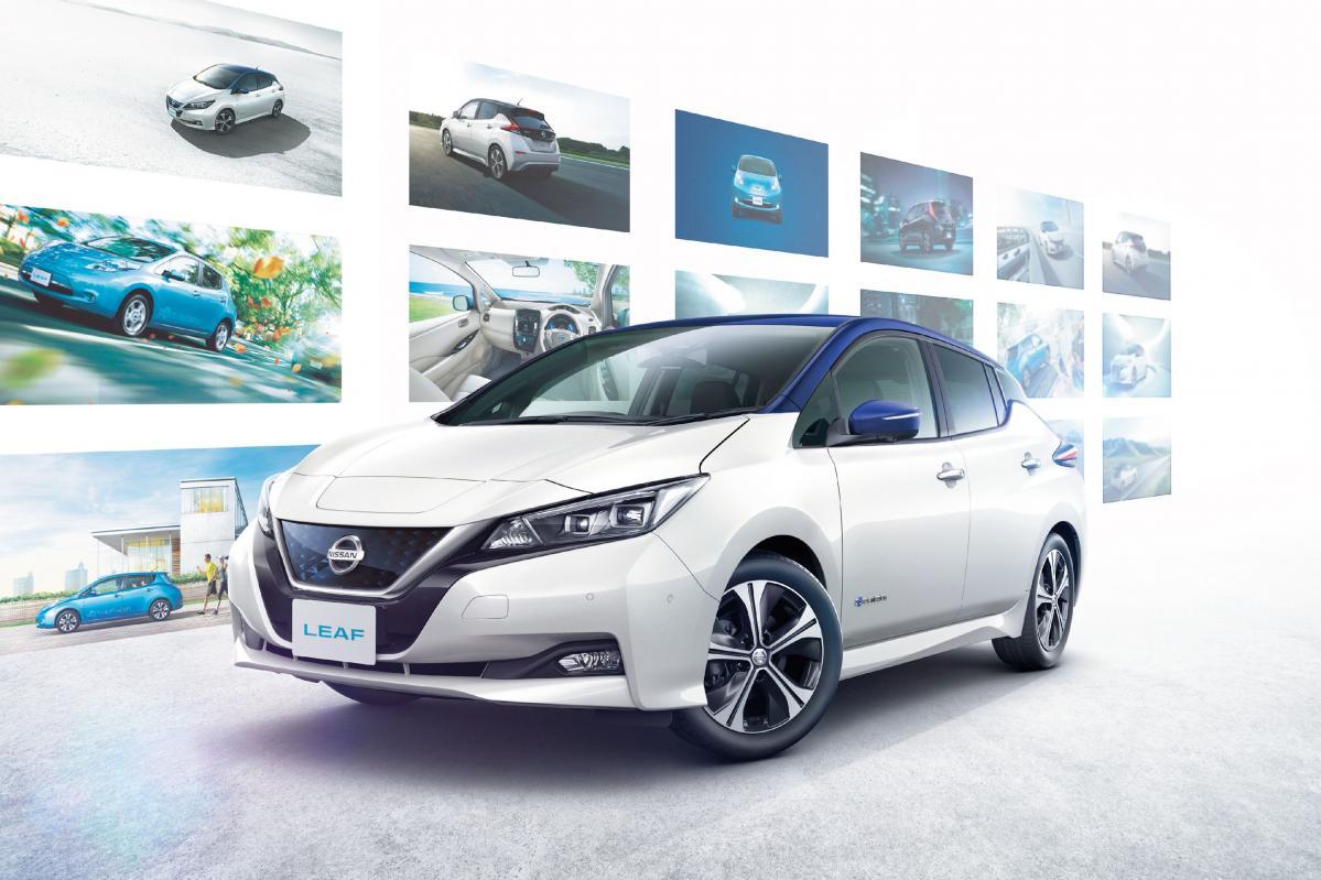 日産リーフの国内累計販売台数10万台突破を記念した特別仕様車が発売!