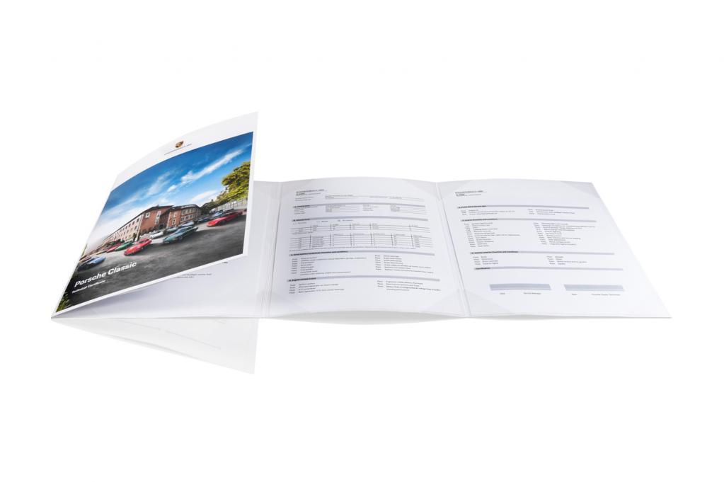 ポルシェジャパンがクラシックポルシェの各種データや現在の車両状態を証明する「ポルシェクラシックテクニカルサーティフィケイト」の販売を開始!