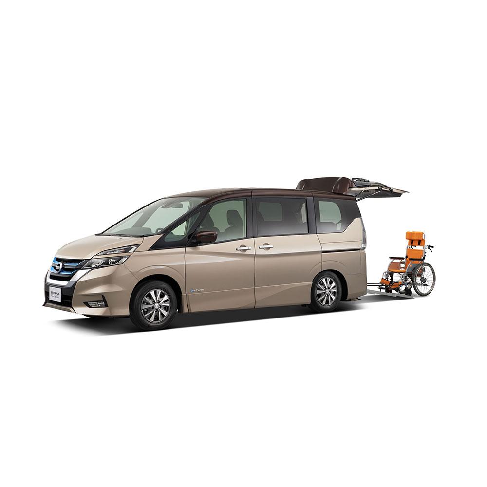 日産とオーテックジャパン、「バリアフリー2019」に福祉車両5台を出展