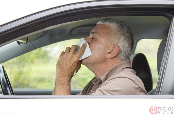 くしゃみで死亡事故も 花粉の季節、運転中どう対策? 窓を閉めただけでは不十分