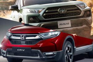 世界一売れてるホンダ車が日本で大苦戦 CR-VとRAV4 大人気SUVなぜ国内で明暗?