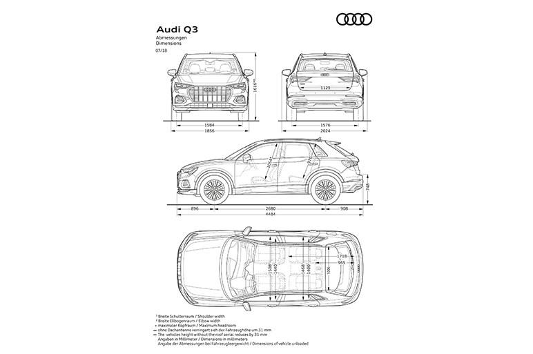 アウディ、新型Q3を公開 欧州では今年11月に発売