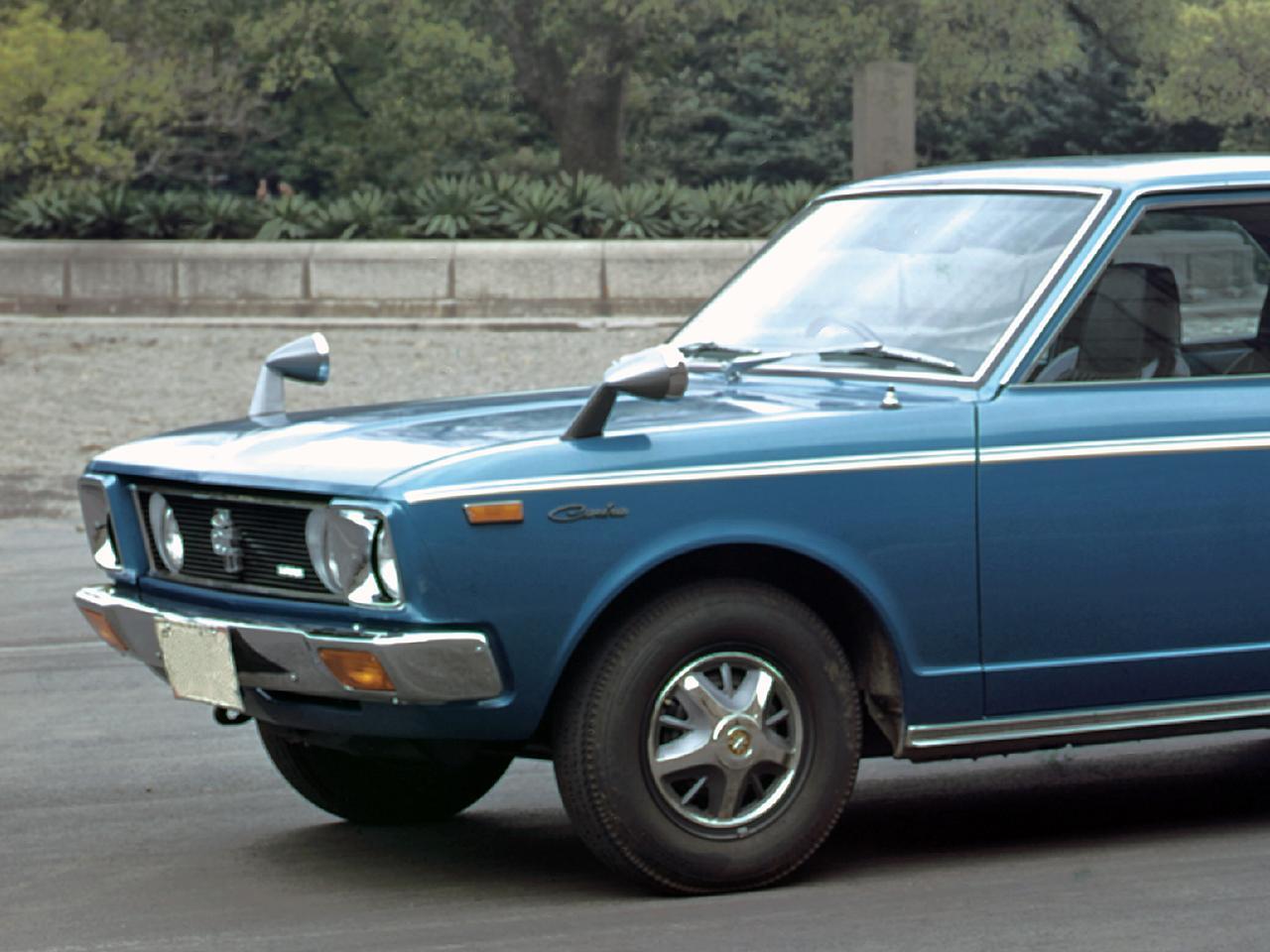 【昭和の名車 35】トヨタ カリーナ1600GT(昭和46年:1971年)