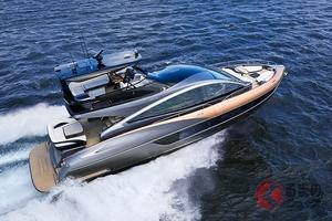 トヨタ社長「車に留まらない挑戦」レクサス初のヨット「LY650」発売! 上質さと品質のフラッグシップ艇