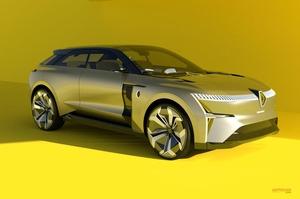 【航続距離550km】ルノー 新しい2つのEVモデル SUV/クロスオーバー 2022年までに発売 欧州