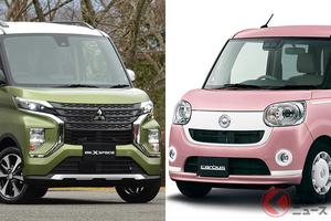 軽ワゴンも強めの個性が重要!? 三菱「eKクロススペース」とダイハツ「ムーヴキャンバス」コダワリ軽を比較