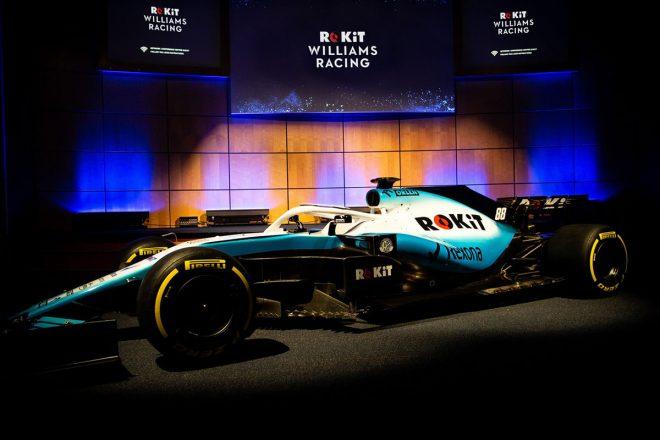 2019年シーズンの巻き返しを期すウイリアムズF1が新カラーリングとスポンサーを発表