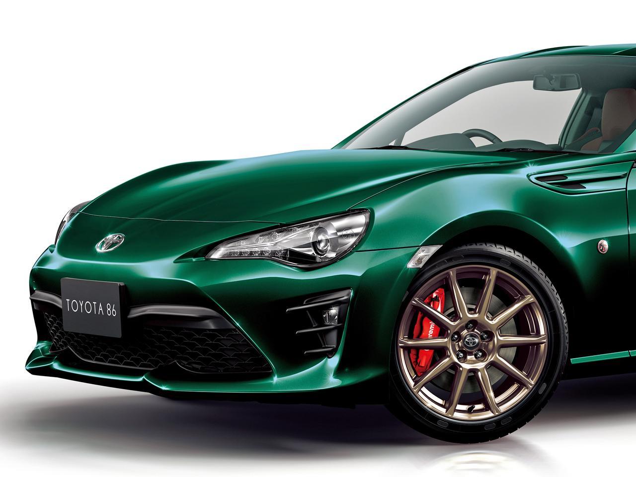 【ニュース】トヨタ 86のグリーンカラー特別仕様車を期間限定で発売