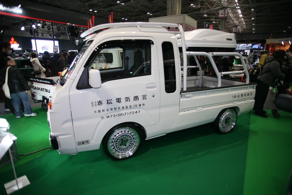 遊び心満載の軽自動車トラック・カスタマイズ5選