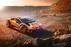 ランボルギーニ、ウラカンEVOをベースにしたダート仕様のコンセプトカー発表!
