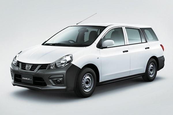 いつの間にトヨタ製に!? マツダ 新型ファミリアバン、プロボックスベースで新発売!!