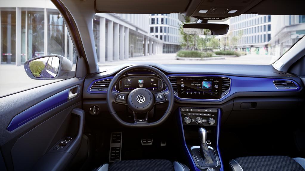 VWの新コンパクトSUV、T-RocにRが仲間入り【ジュネーブ・ショー2019】