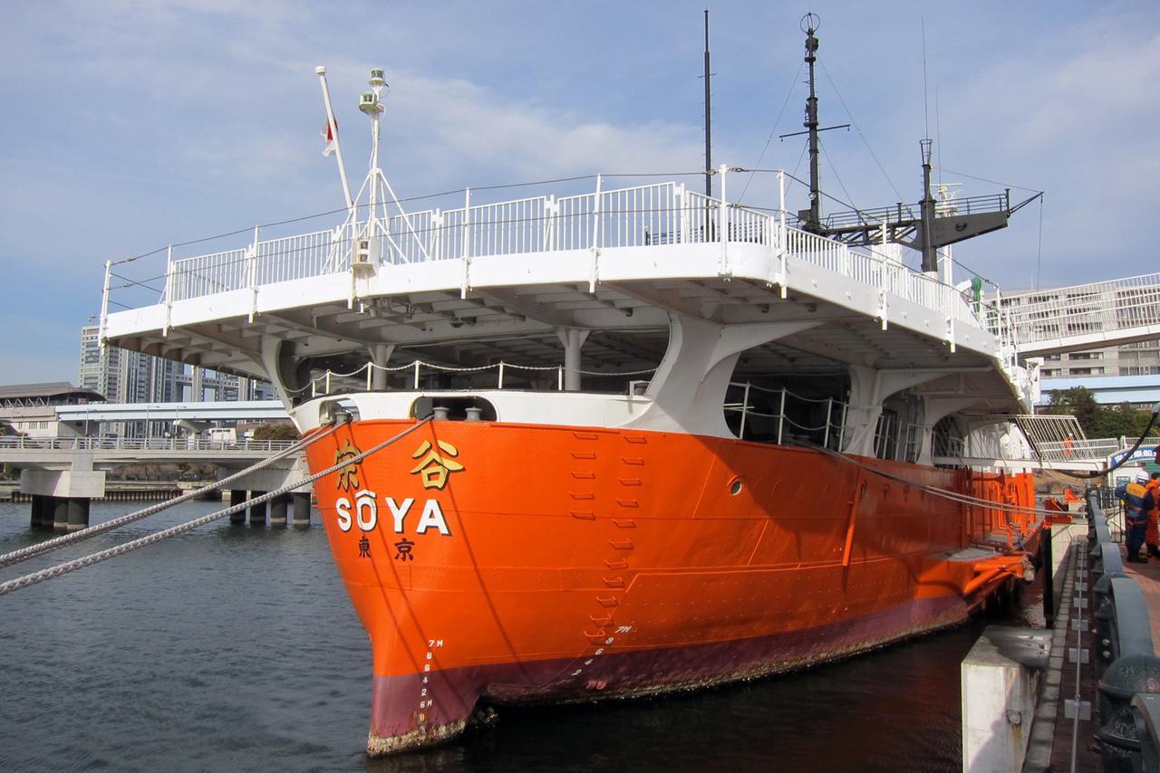 「よくぞこんな小さな船で南極まで!」初代南極観測船の「宗谷」を見学してきました