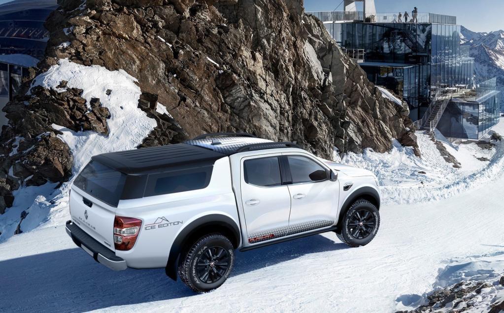 ルノーのピックアップトラックがカッコ良すぎる!「アラスカン・アイスエディション」【ジュネーブ・モーターショー2019】