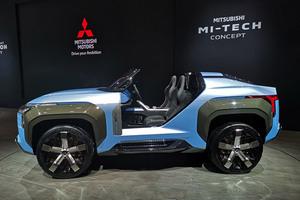 【東京モーターショー2019】三菱 4モーターのスポーツ・バギー「MI-TECH コンセプト」世界初披露