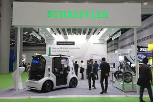 【東京モーターショー2019】シェフラー 新開発のモーター・都市型モビリティ「シェフラー ムーバー」をアジア初公開