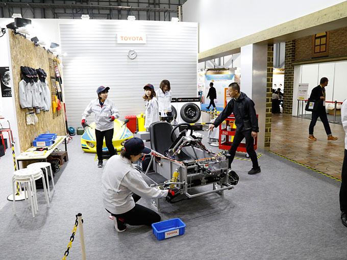 特別コラボの「キッザニア」で車に関わる職業11種を楽しく体験【東京モーターショー2019】
