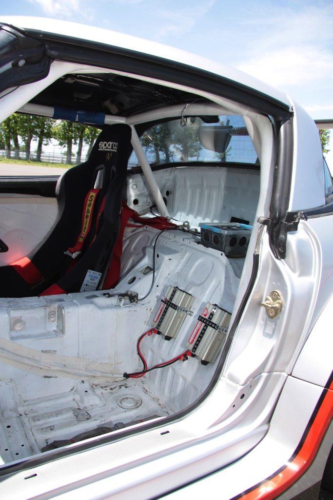 「カプチーノを自作スーパーGT風ワイドボディで武装!」中身は超エコな耐久レース仕様