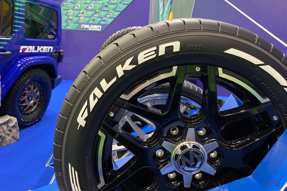 ダンロップ・エナセーブ・ネクストIII発表 ファルケンはホワイトレター・タイヤ展示 TMS2019