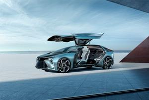 レクサスは東京モーターショーで新作EVコンセプトで次世代電動化ビジョンをアピール