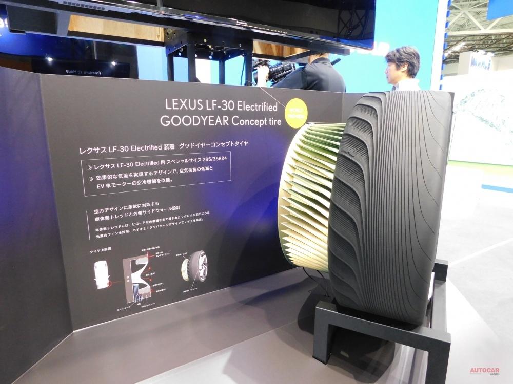 日本グッドイヤー イーグルF1アシメトリック5発表 レクサス用コンセプトも TMS2019