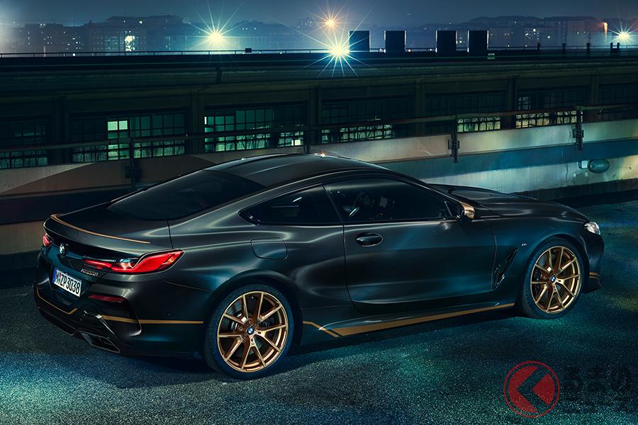 限定1台の特別すぎる8シリーズ! BMW「M850i xDriveエディション・ゴールデン・サンダー」登場