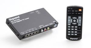 エイタックが、快適な視聴環境を実現するオリジナルの地デジチューナー「AT-DTV4X」を発売
