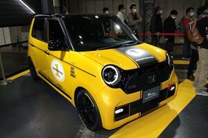 6速MTを搭載する「N-ONEカフェレーサーコンセプト」じつは今秋発売予定の次期型だった【大阪オートメッセ2020】