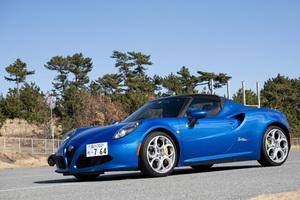 【いま選ぶべき輸入車】アルファ ロメオ「4Cスパイダー」